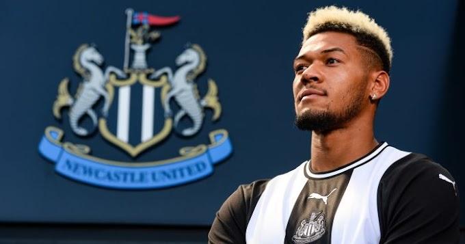 Joelinton relishing 'huge honour' of being latest Newcastle No 9