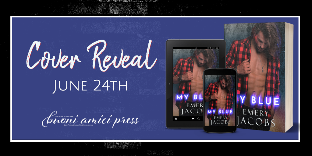 Cover Reveal- My Blue By Emery Jacobs