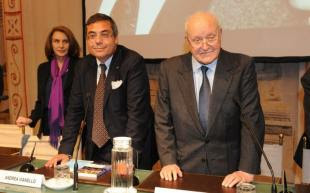 Paola Pitagora Andrea Vianello e Ettore Bernabei