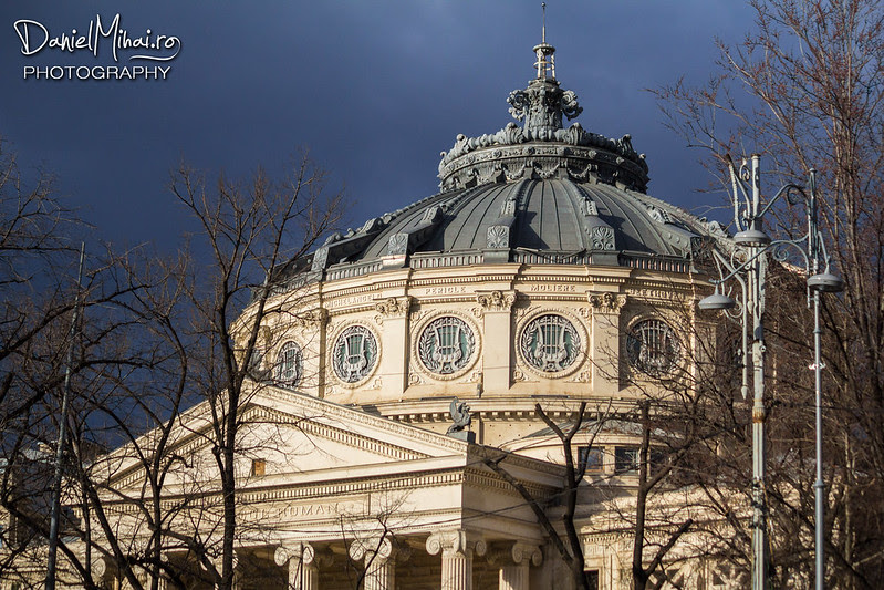 Romanian Athenaeum, Bucharest by Daniel Mihai