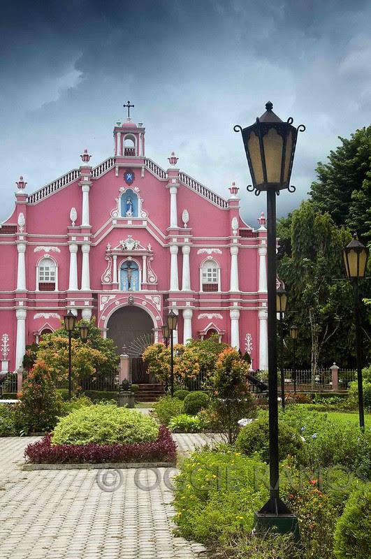 Villa Escudero Pink Museum and Grey Clouds III