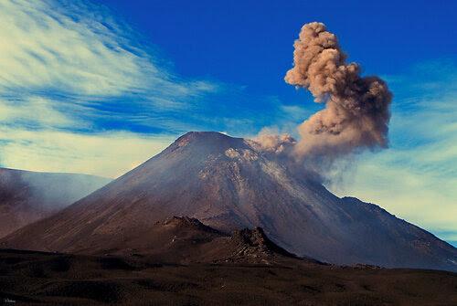 На вулкане Этна
