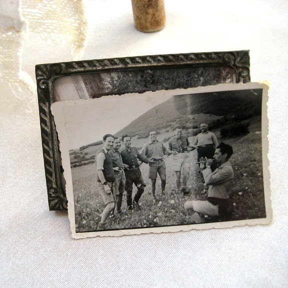 Vintage photo Merry mountaineers Snapshot photography Paper ephemera Old photo Photo image Collectibles