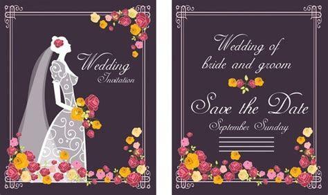 Wedding card border designs free vector download (18,245
