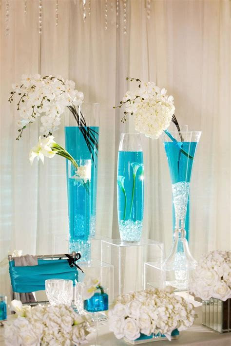 Turquoise In Wedding Decorations   ????? ?????? in 2019