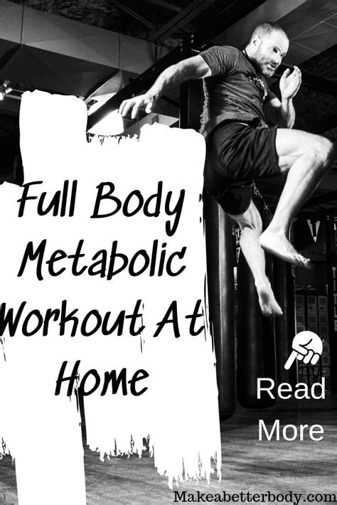 A great full body metabolic workout at home. Perfect for