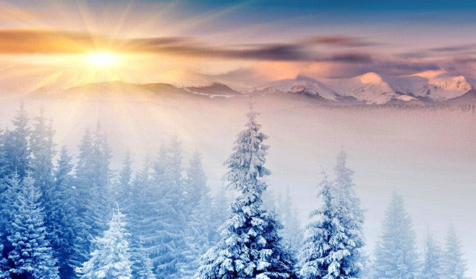 Che la vita continua buongiorno risveglio con la neve for Immagini bellissime buongiorno
