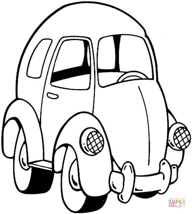 Toy Car Drawing at GetDrawings | Free download