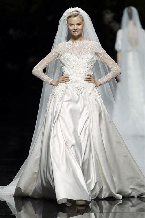 Elie Saab for Pronovias Spring 2013   weddingsonline