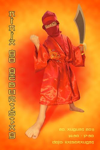 Ninja Birthday by Prozac74