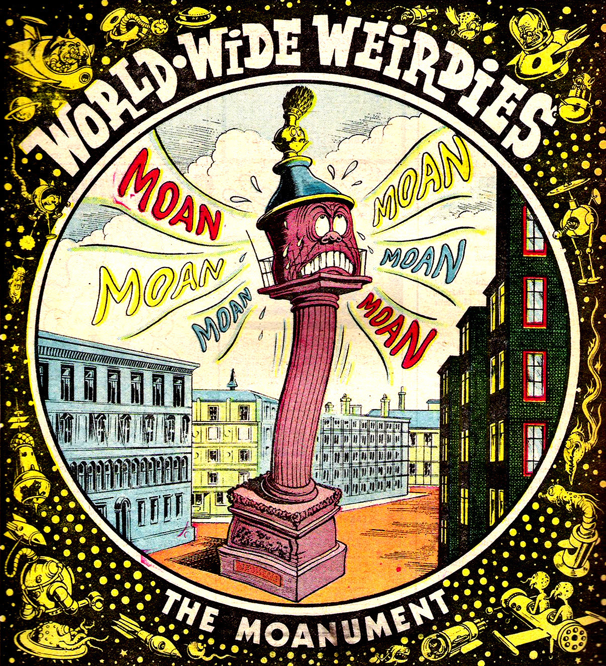 Ken Reid - World Wide Weirdies 69