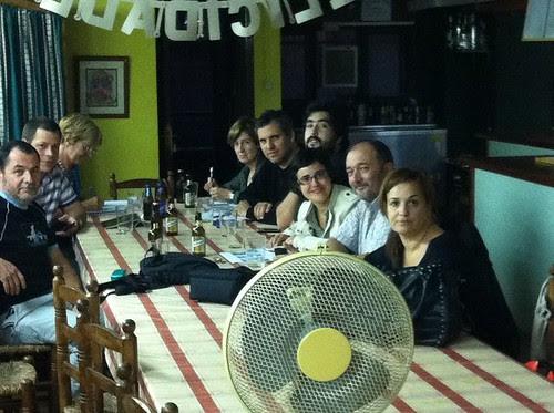 17ª Junta Abierta GetxoBlog en el Txoko familiar de Teresa