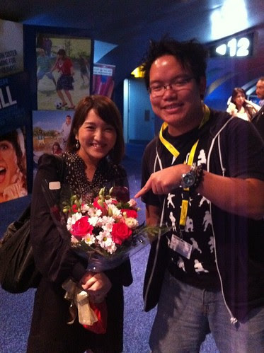 With Mami Sunada, director of ENDING NOTE: DEATH OF A JAPANESE SALESMAN