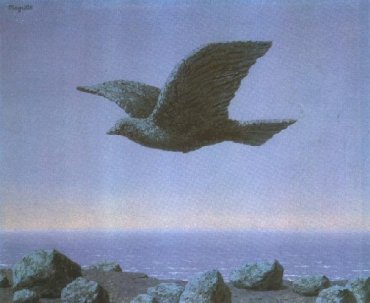 The idol, 1965 Rene Magritte