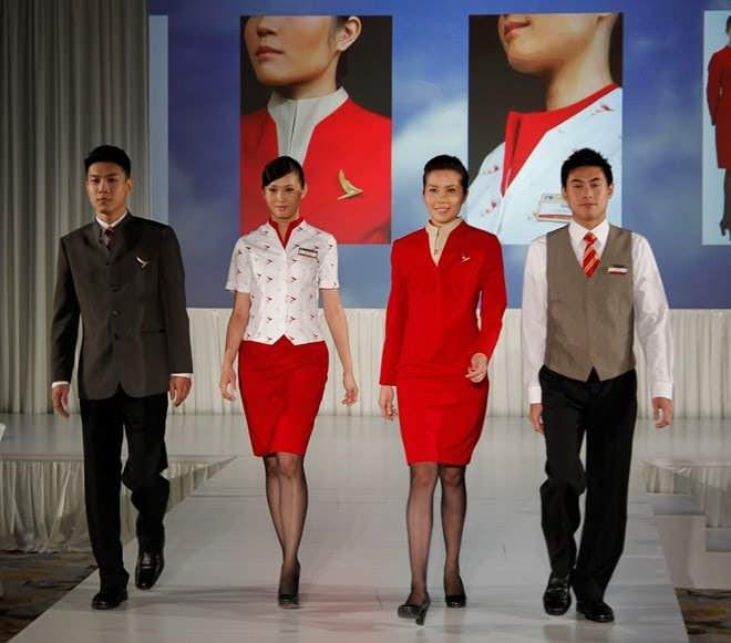 đồng phục tiếp viên hàng không jetstar
