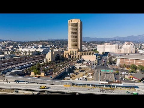 Union Station LA Debuts New Patsaouras Bus Plaza