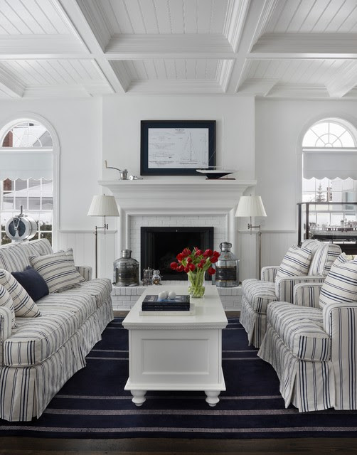 Nautical Living Room Decorating Ideas | 2019 Mixture Home