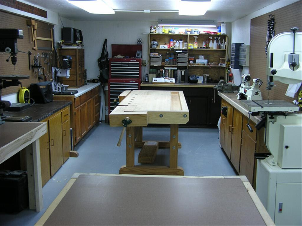 Complete Wood Shop Table Designs Francois Career