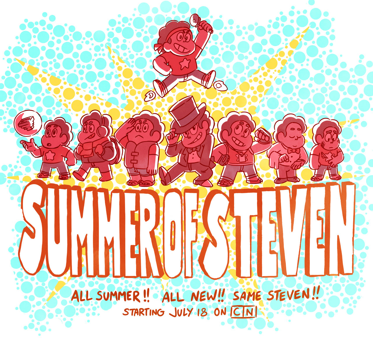 There's a whole lot of Steven coming your way! See you next week!