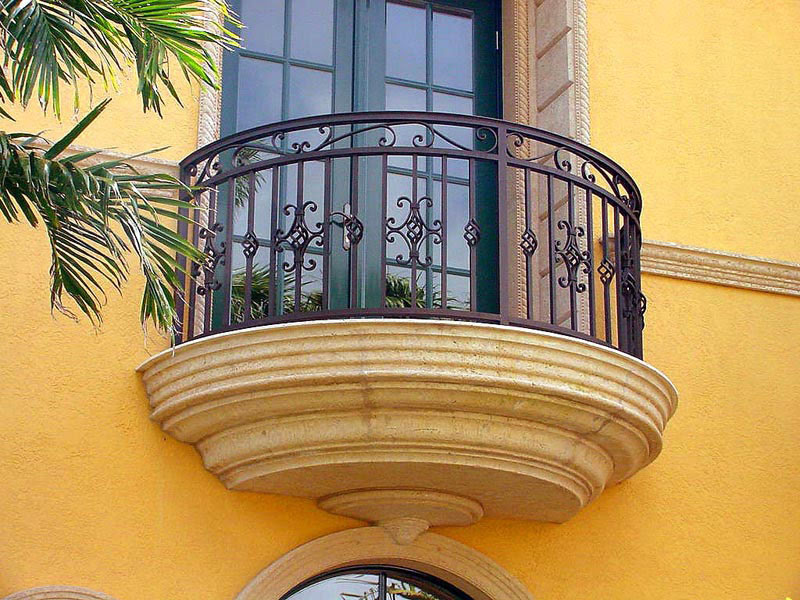 Wrought Iron Balconies With Architectural Appeal | iDesignArch ...