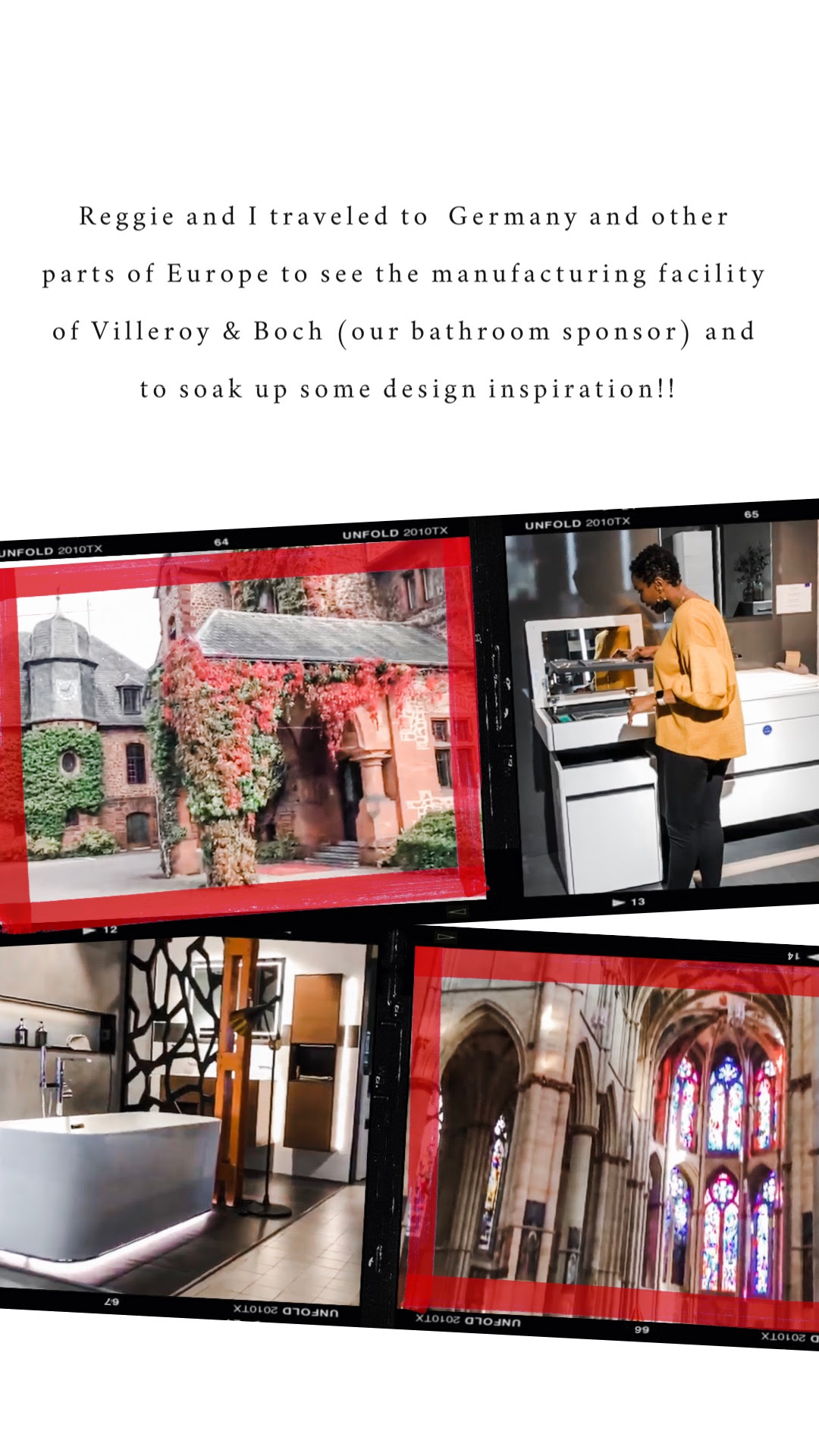 ABI- Arianne Bellizaire in Europe collecting design inspiration