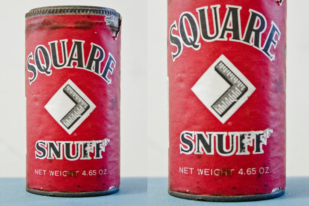 Fire Red Unopened Vintage Snuff Tin