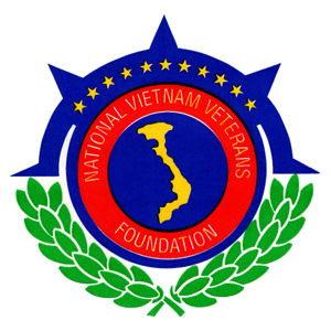 Logo của tổ chức vô vị lợi National Vietnam Veterans Foundation. (Hình: NVVF)