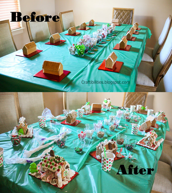 Gingerbread House Decorating How To Set Up For An Easy And Fun
