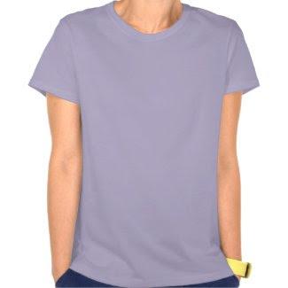 Pancreatic Cancer Awareness Ribbon Angel Shirt