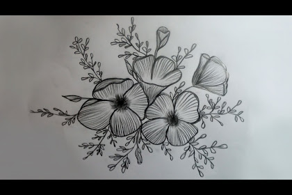 20+ New For Easy Basic Pencil Drawings Of Flowers