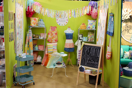 Dreamin' Vintage Quilt Market Booth by Jeni Baker