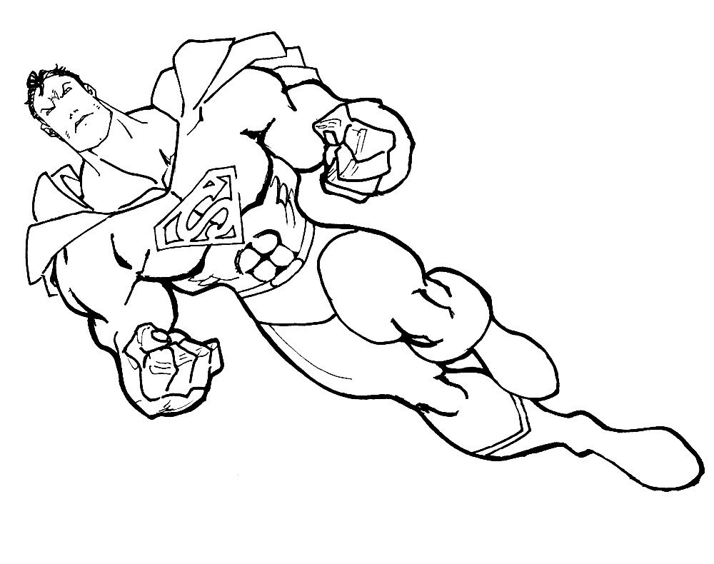 Tolle Superhelden Malvorlagen Für Jungen Ideen ...