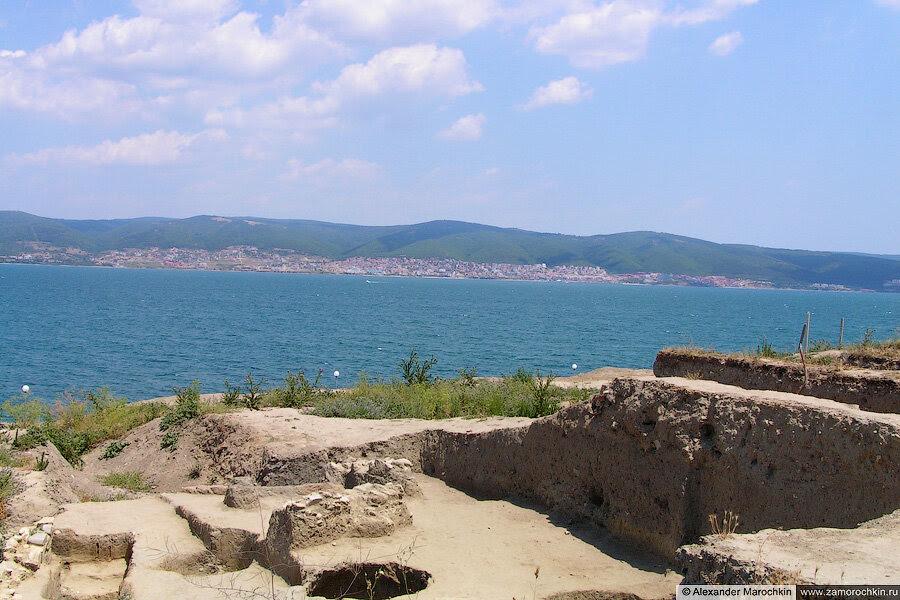 Археологические раскопки в Несебре, Болгария