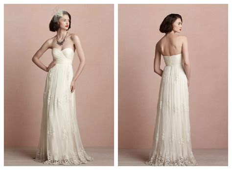 Fall Wedding Gowns From BHLDN   Rustic Wedding Chic