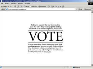 pitchfork vote