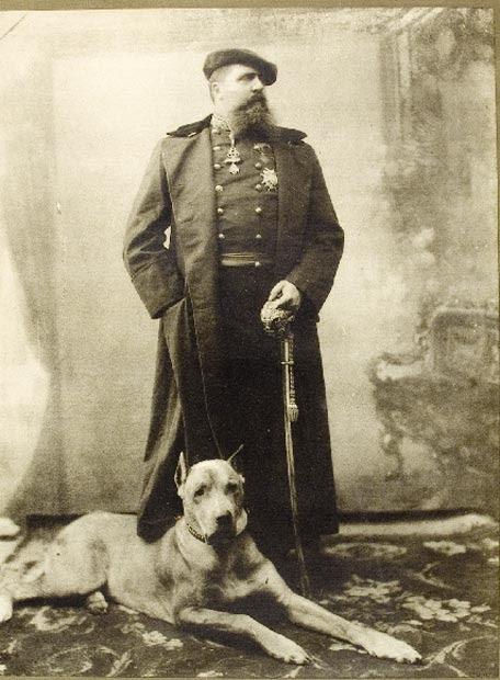 Retrato de Carlos María de Borbón Austria-Este