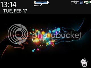 flowerdoor87 83 Theme đẹp dành cho BlackBerry 83xx và 87xx