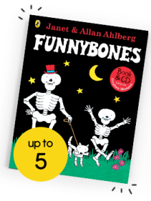 Funnybones Book and CD by Janet and Allan Ahlberg