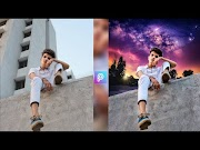 Photo editing in picsart || background change in picsart || photo Editin...