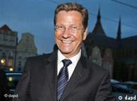 Ministro do Exterior alemão, Guido Westerwelle
