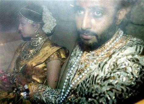 Abhishek Bachchan Aishwarya Rai Wedding Pictures  Shaadi