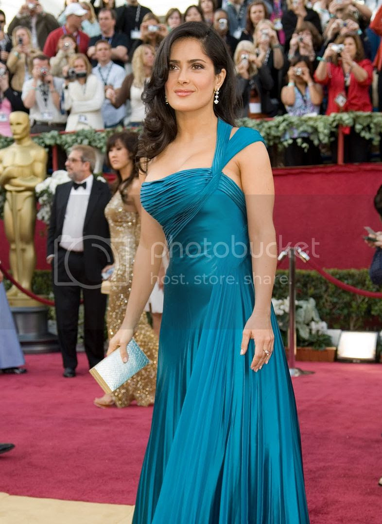 Salma Hayek - 2006 Oscar Awards Pictures