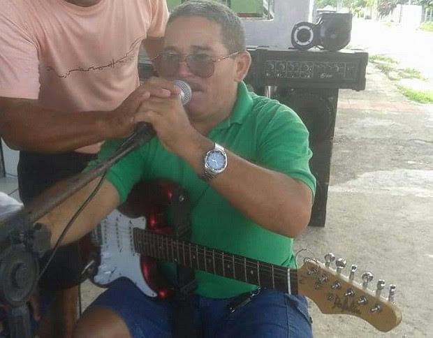 Policial Aldo Tavares Irineu também gostava de cantar (Foto: Divulgação / PM)