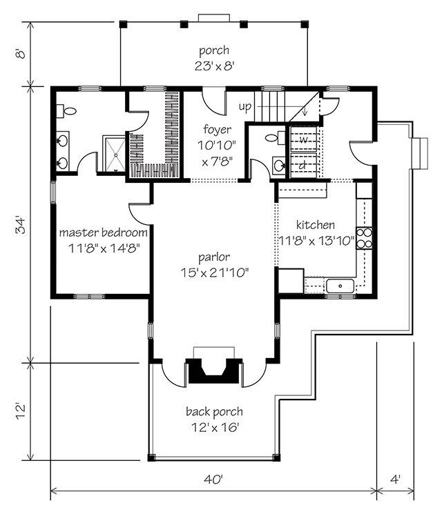 Garden Home Floor Plans