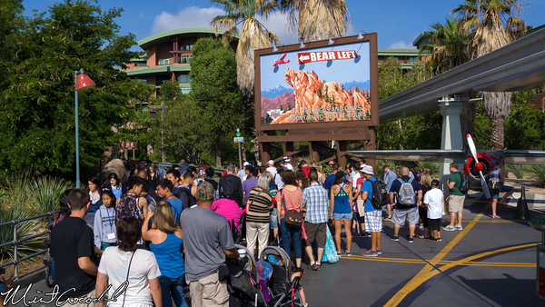Disneyland Resort, Disney California Adventure, Condor Flats, Rope Drop