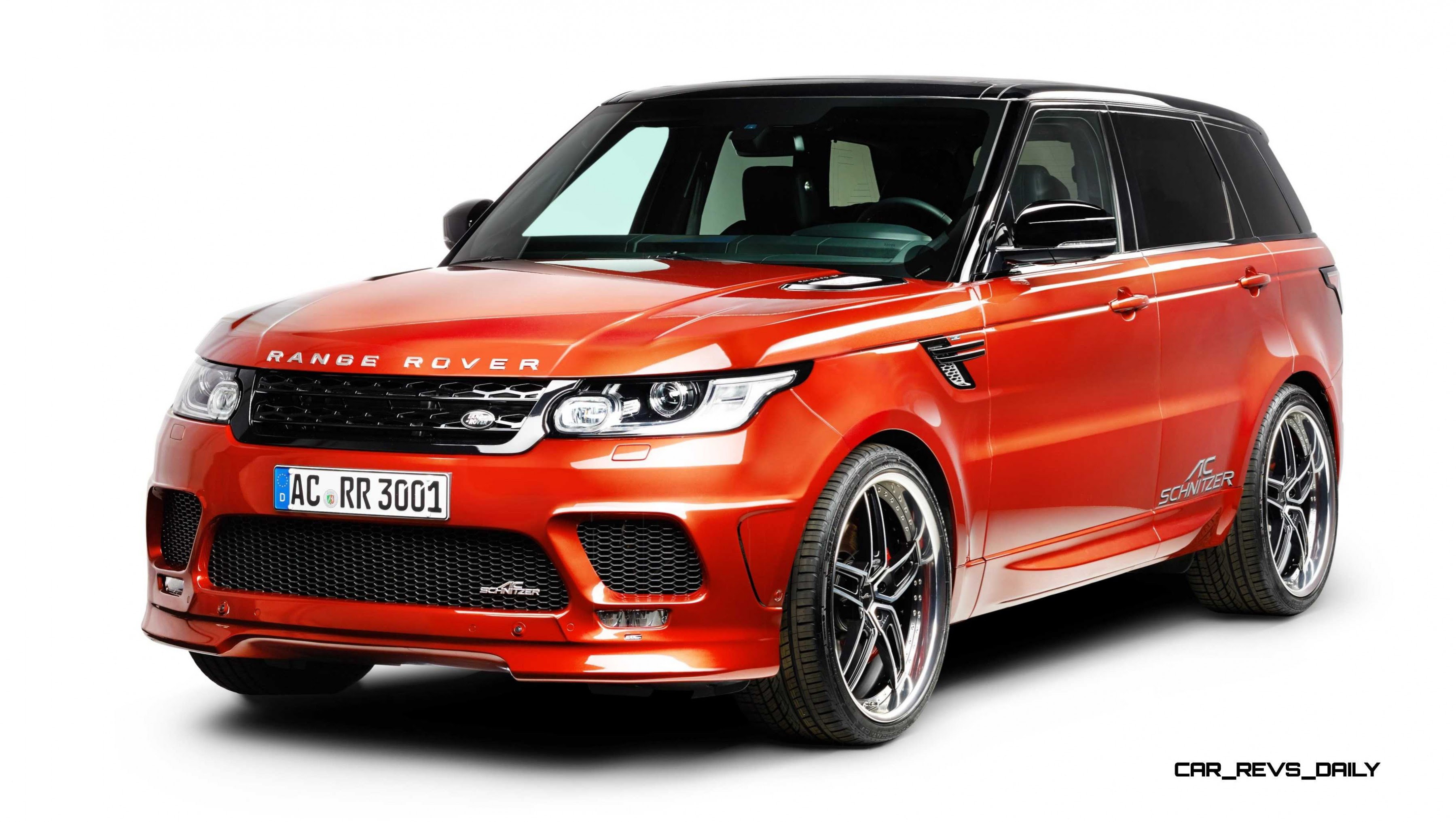 AC Schnitzer Range Rover Sport S Is Seductive Style and Performance Makeover