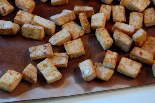 243/365 Fried Tofu
