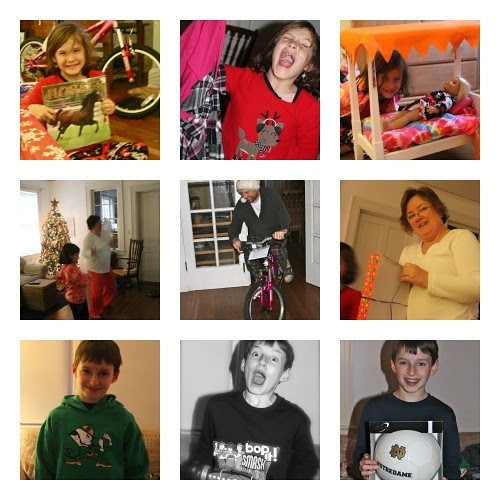 Christmas Morning '12 Collage