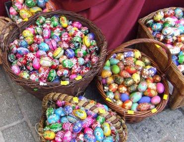 Pisanki wielkanocne, Wielkanoc pisanki, malowane jaja