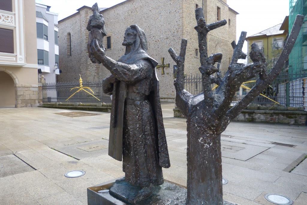 Homenaje al Templario y a la Virgen de la Encina